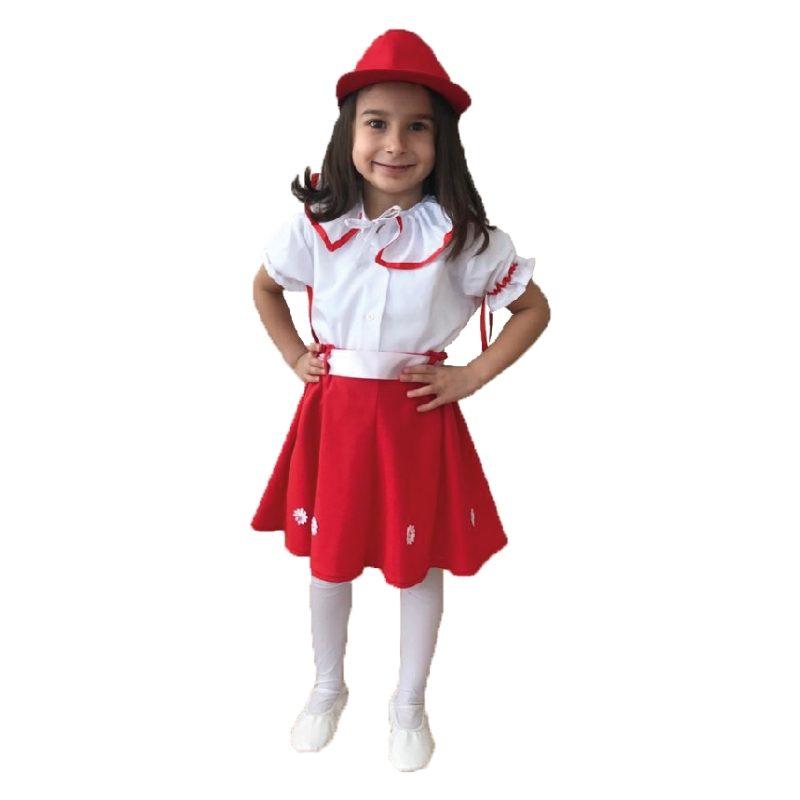 Kırmızı Papatyalı Takım – 23106