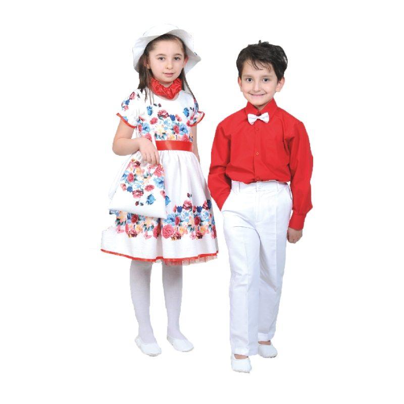 İlkbahar Elbise Takım – 2385